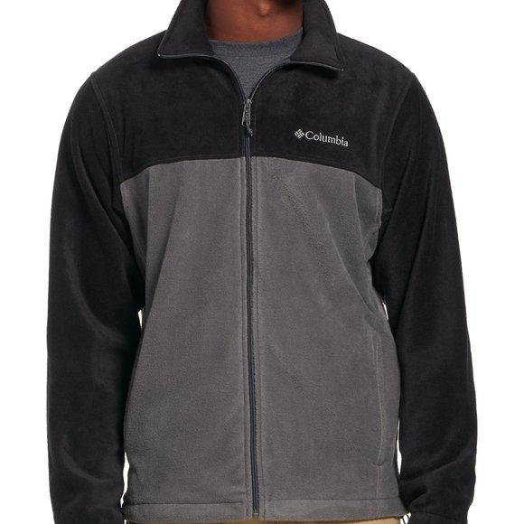 NWT Columbia Men/'s Steen/'s Mountain Full Zip Fleece 2.0 XL ORANGE